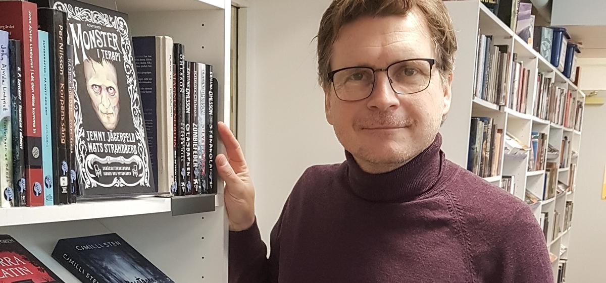 Tomas Granehag, skolbibliotekarie